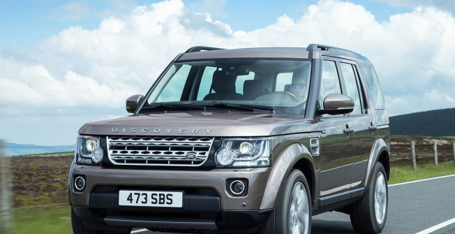 Land Rover Finance in North Ayrshire